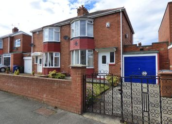 Thumbnail 2 bed semi-detached house for sale in Calderdale Avenue, Walkerdene, Newcastle Upon Tyne
