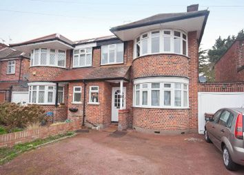 Thumbnail 3 bed semi-detached house for sale in Cannonbury Avenue, Pinner, Middlesex