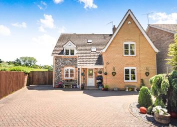 Thumbnail 4 bed detached house for sale in Castle Lane, Thetford