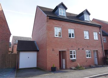 Thumbnail 3 bed semi-detached house for sale in Trafalgar Way, Lichfield