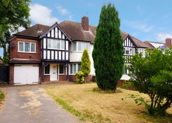 Thumbnail 4 bedroom semi-detached house for sale in Church Lane, Handsworth Wood, Birmingham, West Midlands