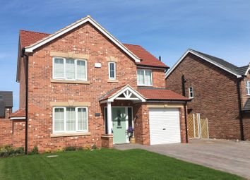 Thumbnail 4 bed detached house for sale in Plot 3, The Kingston, Church View, Church Lane, Ulceby, North Lincolnshire