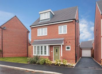 Thumbnail 4 bed detached house for sale in Volans Drive, Westbrook, Warrington