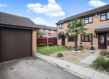 Thumbnail 3 bed end terrace house for sale in Marsom Grove, Luton
