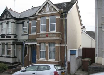 Thumbnail 1 bed flat to rent in Beauchamp Crescent, Plymouth, Devon
