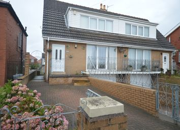 Thumbnail 2 bed semi-detached bungalow for sale in Highfield Road, Blackpool