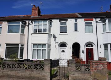 Thumbnail 3 bedroom terraced house for sale in Desborough Crescent, Liverpool