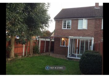 Thumbnail 2 bed end terrace house to rent in Aintree Close, Slough