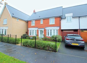 Thumbnail 4 bed link-detached house for sale in Wellhouse Avenue, West Mersea, Colchester
