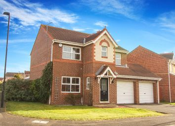 Thumbnail 4 bed detached house for sale in Holyfields, West Allotment, Newcastle Upon Tyne