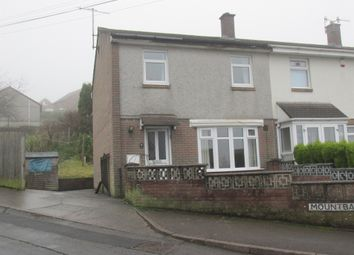 Thumbnail 3 bed end terrace house for sale in Mountbatten, Rhymney, Tredegar