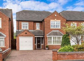 Thumbnail 4 bed detached house for sale in Mere Croft, Norton Canes, Cannock, Staffordshire