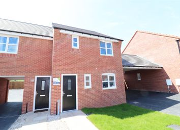 Thumbnail 3 bed town house for sale in Lawson Road, Bolsover, Chesterfield