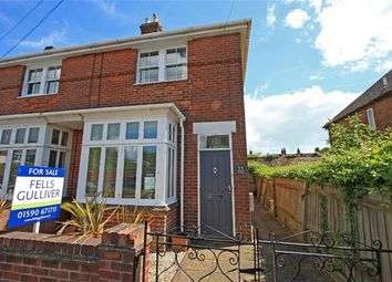 Thumbnail 3 bed semi-detached house for sale in Eastern Road, Lymington, Hampshire