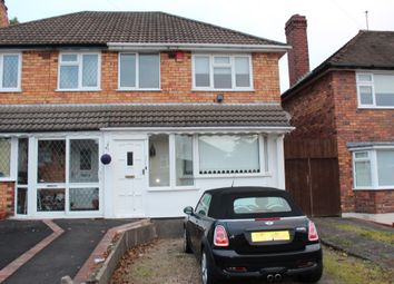 Thumbnail 3 bed semi-detached house for sale in Tideswell Road, Great Barr, Birmingham.
