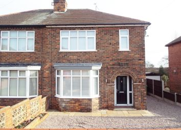 Thumbnail 3 bed semi-detached house to rent in Skinner Street, Creswell, Nottinghamshire