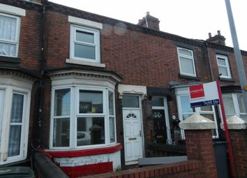Thumbnail 2 bedroom terraced house to rent in Williamson Street, Tunstall, Stoke-On-Trent