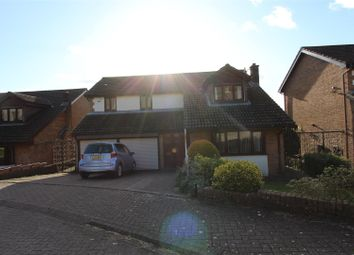 Thumbnail 4 bed detached house for sale in Oakfield Gardens, Machen, Caerphilly