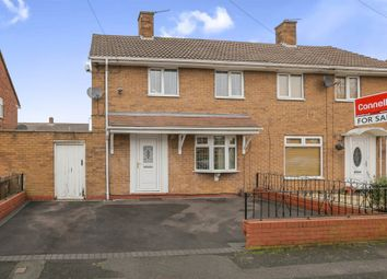 Thumbnail 2 bed semi-detached house for sale in Leacroft, Willenhall