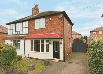Thumbnail 2 bed semi-detached house for sale in Willbert Road, Arnold, Nottingham