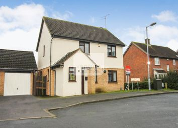 Thumbnail 3 bed detached house for sale in Willenhall Close, Luton