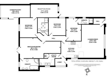Thumbnail 4 bed detached bungalow for sale in Greenway Lane, Chippenham