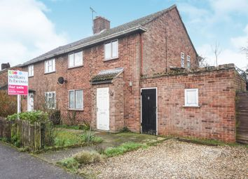 Thumbnail 3 bed semi-detached house for sale in Wingfield Road, Lakenheath, Brandon