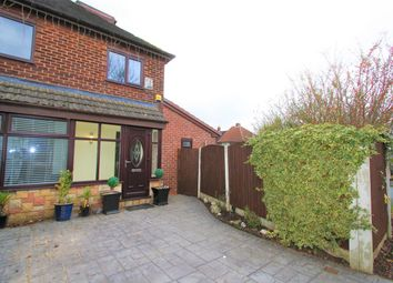 Thumbnail 3 bed semi-detached house for sale in Grundy Avenue, Prestwich, Manchester