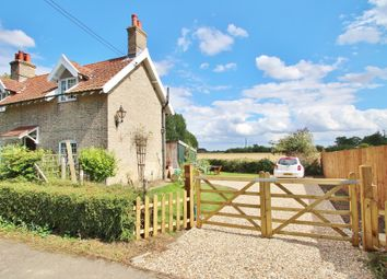 Thumbnail 3 bedroom semi-detached house for sale in Brettenham, Ipswich, Suffolk