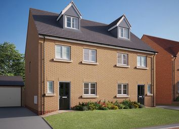 "Thumbnail 4 bed semi-detached house for sale in ""The Aslin"" at Holly Drive, Hessle"