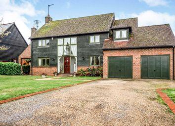 Thumbnail 4 bed detached house for sale in Bury Farm Close, Slapton, Leighton Buzzard