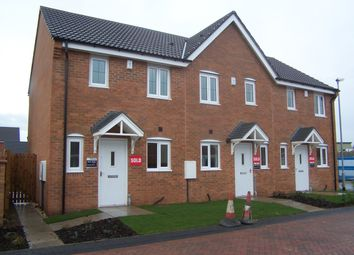 Thumbnail 2 bed end terrace house to rent in Bittern Croft, Wombwell, Barnsley