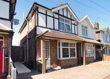Thumbnail 3 bed semi-detached house for sale in Kenilworth Road, Bognor Regis