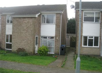 Thumbnail 2 bedroom end terrace house for sale in Uppingham Drive, Broughton Astley, Leicester