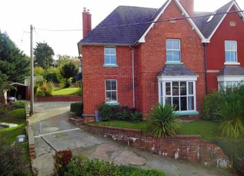 Thumbnail 5 bed semi-detached house for sale in 2, Oak Villas, Kerry Road, Newtown, Powys