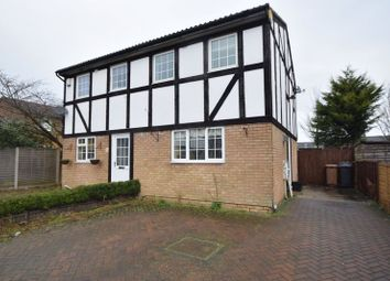 Thumbnail 2 bed semi-detached house to rent in Beanley Close, Luton