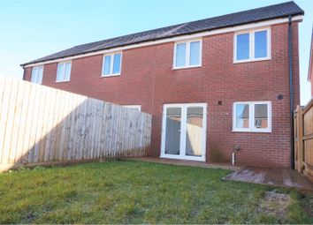 Thumbnail 3 bed end terrace house for sale in Knight Close, Taunton