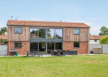 Thumbnail 4 bedroom detached house for sale in School Road, Colkirk, Fakenham