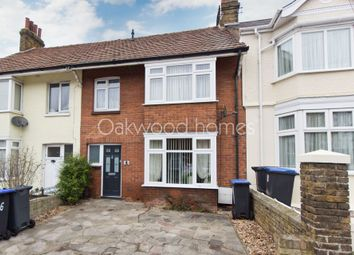 Thumbnail 3 bed terraced house for sale in Ulster Road, Margate