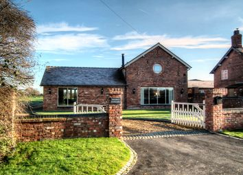 Thumbnail 5 bedroom barn conversion to rent in Gradeley Green, Burland, Nantwich