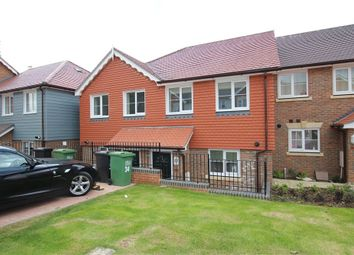 Thumbnail 3 bed terraced house to rent in Endeavour Way, Hastings, East Sussex