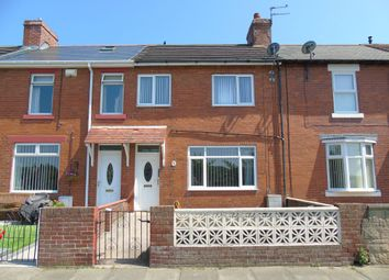 Thumbnail 3 bed terraced house for sale in Melrose Terrace, Newbiggin-By-The-Sea