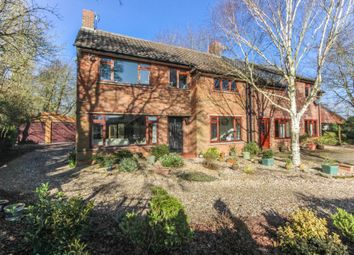 Thumbnail 5 bed detached house for sale in The Green, Weston Colville, Cambridge