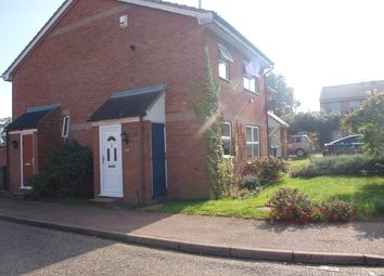 Thumbnail 1 bedroom semi-detached house to rent in Melton Close, Norwich