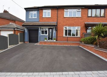 Thumbnail 4 bed semi-detached house for sale in Greasley Road, Bucknall, Stoke-On-Trent