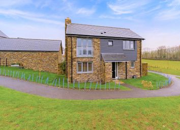 Thumbnail 4 bed detached house for sale in Middle Green, South Brent