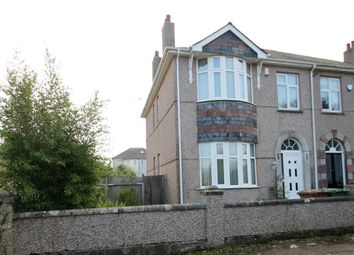 Thumbnail 4 bed semi-detached house for sale in Tamar Villas, Plymstock, Plymouth