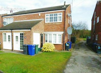 Thumbnail 2 bed flat for sale in Handsworth Gardens, Armthorpe, Doncaster.