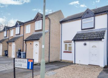 Thumbnail 1 bed terraced house for sale in Burwell Close, Witney