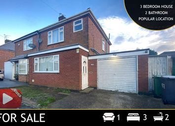 Thumbnail 3 bed semi-detached house for sale in Church Hill Road, Thurmaston, Leicester